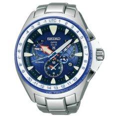 Seiko Prospex GPS Solar Limited Edition SSF001 - Jam Tangan Pria - Silver (Silver)