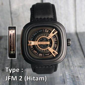 Seven Friday M1 / M2 ,Grade Original / Jam Tangan Pria Chrono Black / Hitam