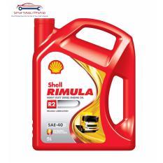 Shell Rimula R2 SAE-40 - Pelumas Oli Mesin Mobil Diesel 5 Liter