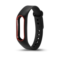 Silicone Wrist Strap Bracelet Double Color Replacement watchband for  Original Miband 2 Xiaomi Mi band 2 f8fd31389f