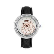 SimpleHome SKMEI 1156 Women's Black & White Waterproof Quartz Watch (Intl)
