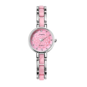 Sinobi 2016 New Fashion Watches Luxury Brand Dress Watch Fine Steel Strap Ladies Bracelet Wrist Watch