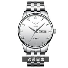 Siswa menonton menonton stainless steel jam tangan pria