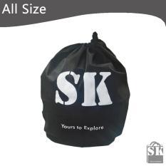 SK Tas Sarung Helm Motor Non Woven (Hitam)