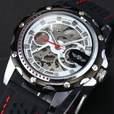 Skeleton Automatic Watch Men Mechanical Watch - intl