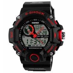 Skmei 1029 Sport Watches Men Waterproof 50M Men Wristwatch Red