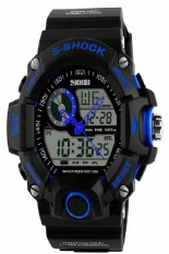 SKMEI 1029 Waterproof Watch Blue