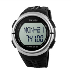 Skmei 1058 Men Student Casual Outdoor Sports Electronic Watch Black (Intl)