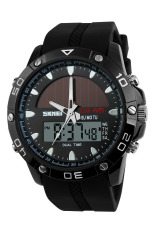 SKMEI 1064 Solar Power Digital Waterproof Watch (Black)