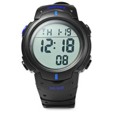 Skmei 1068 Military Army LED Watch Water Resistant Stopwatch Alarm Day Date Function (Intl)