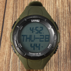 SKMEI 1122 Men's Sport Waterproof LED Digital Wrist Watch (Intl)