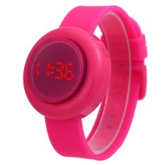 Skmei 1138 Fashion Candy Color LED Digital Jelly Sports Watch Silicone Water Resistant Unisex Wristwatch - Intl