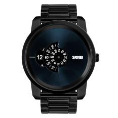 SKMEI 2016 New Fashion Men's Brand Business Watch Man Quartz Watches Dress Casual Mens Big Dial Simple Wristwatch - Intl