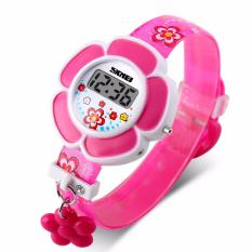 Skmei Jam Tangan Anak Perempuan Digital Children Fashion Rose Digital Watch DG1144 - Pink