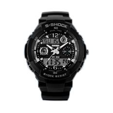 Skmei Men Black Waterproof Electronics Multi-function Watch 0931