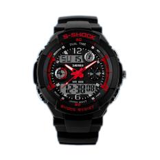 Skmei Men Waterproof Electronics Multi-function Watch 0931 Red