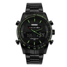 SKMEI Multifunctional Fashion Watch Water Resistant - 1131 - Hijau