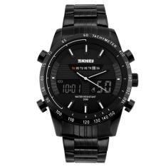 SKMEI Multifunctional Fashion Watch Water Resistant - Hitam