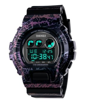 SKMEI Outdoor SK1150B Sports Multifunctional Waterproof Digital Display Watch Camouflage - Intl - Intl