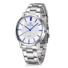 SKONE Brand Sports Watches Men Luxury Fashion Business Watch Hardlex Quartz Wristwatches Blue (Intl)