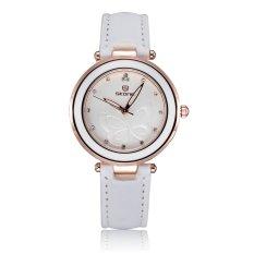 SKONE Women Wristwatches Fashion Rhinestone Watches Casual Dress Quartz Ladies Brand Bracelet Watch-white