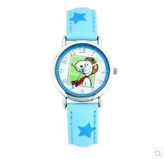 Snoopy siswa jam tangan anak