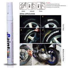 Spidol Ban Mobil / Motor Logo Paint Maker Variasi SPD-03 - White