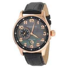 Stuhrling Original Men's 148A.33451 Classic Lineage Grand Automatic Mother-Of-Pearl Date Watch (Intl)