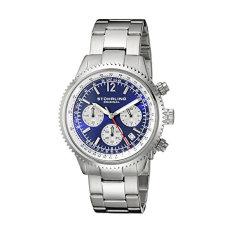 Stuhrling Original Men's 669B.02 Monaco Stainless Steel Bracelet Watch (Intl)