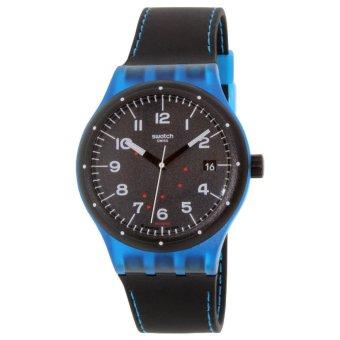 Swatch Jam Tangan Pria Suts402 Sistem Class-Blue