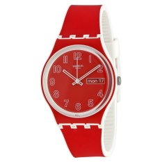 Swatch Jam Tangan Wanita-GW705 Poppy Field-Merah