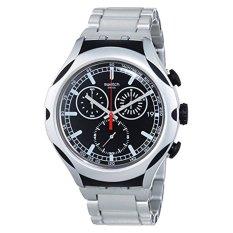 Swatch Men's YYS4000AG Irony Analog Display Swiss Quartz Silver Watch - Intl