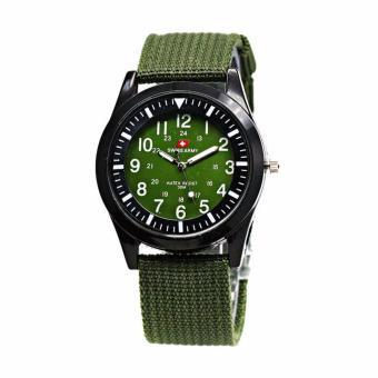 Swiss Army 0128-RZ Jam Tangan Pria - Full green