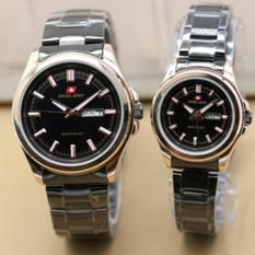 Swiss Army Couple Watch - Silver - Stainless - Swiss Army SA 5088 COUP SS BL