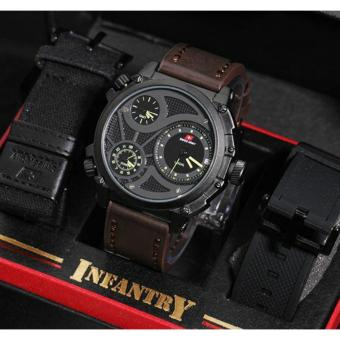 Swiss Army Infantry Full Set-Jam Tangan Pria SA 7566