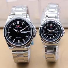 ... Silver Source · Swiss Army Sa7916 Day Date Jam Tangan Couple Stainless Steel Source Swiss Army SA9707 Day