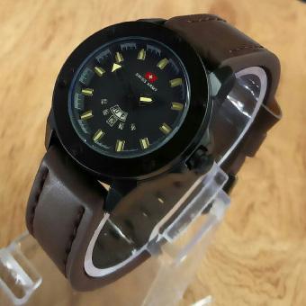 Swiss Army - Jam Tangan Pria - Strap Kulit SA3095M
