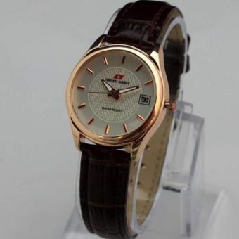 Swiss Army - Jam Tangan Wanita - SA0987X Brown Gold (CoklatEmas)