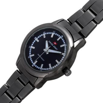 ... Jam Tangan Wanita - Strap Kulit - Silver Hitam. Source · Wanita Stainless Steel Silver Source · Swiss Army Quartz Watch SA 6033L FB .