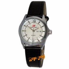 Swiss Army - SA0112L - Jam Tangan Wanita - Strap Kulit - Silver