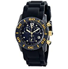 Swiss Legend Women's 10128-01-GA Commander Diamonds Analog Display Swiss Quartz Black Watch - Intl