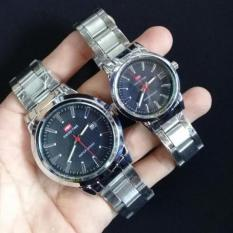 Swiss Time/Army - Jam Tangan Couple Stainless Steel S218677672