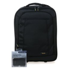 Targus TBR018AP CityGear Overnight Biz Case - Hitam + Gratis Power Bank