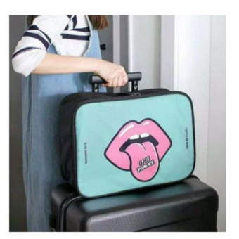 Tas Koper Jinjing - Travel Organizer - Hand Carry Bag - Tosca