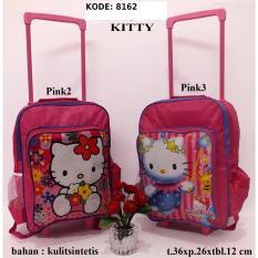 Tas Troli Anak Kitty 8162 Pink