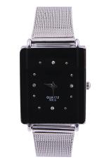 Tasteful Women's Stainless Steel Watch Elegant Quartz Wrist Watches (Black) (Intl)