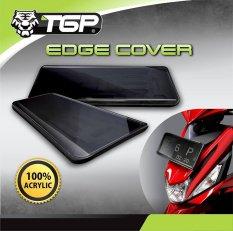 TGP Aksesoris Motor Tempat Plat Nomor Besar New Edge- Bening