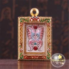 Thai Amulet Talisman Pendant King Of Butterfly Brahma Kruba Krissana Amulet