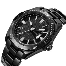 The High Quality TTLIFE Fashion Brand TC012 Men's Big Dial Date Window Analog Quartz Watch (Black)