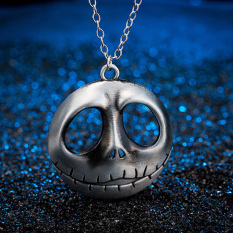 The Nightmare Before Christmas Prince Jack Face Necklace Personality Desgin - Intl
